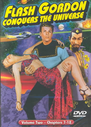 FLASH GORDON CONQUERS UNIVERSE VOL. 2 BY CRABBE,BUSTER (DVD)