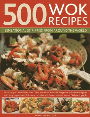 500 Wok Recipes By Fleetwood, Jenni